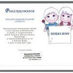 Certyfikat Stowarzyszenie Osiemnastka
